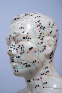 Točke za akupunkturu na glavi